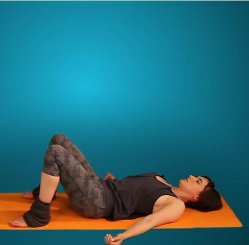 разминка таза йога