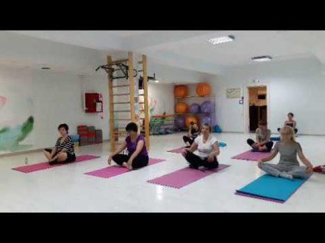 йога плечевой сустав