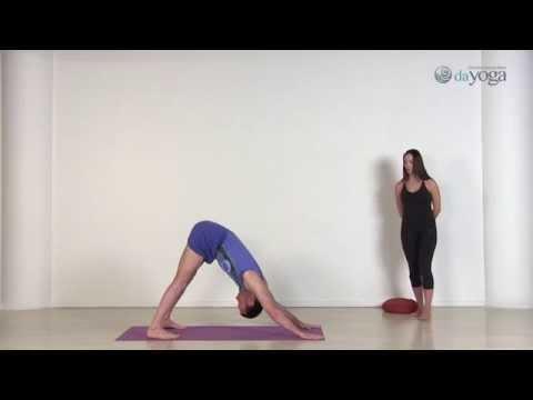 Йога для начинающих для похудения видео уроки