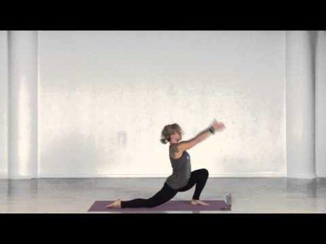 Силовое занятие для ног в традиции виньяса флоу йоги