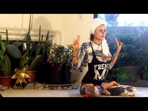 Йога для похудения видео уроки