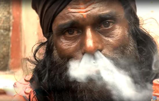 курение йога