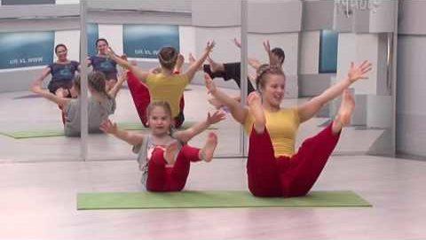 йога дети взрослые