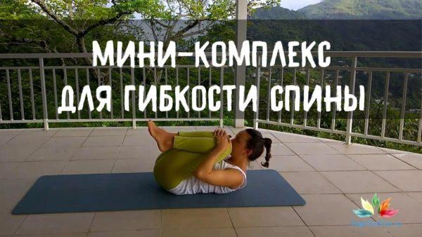 гибкост спина йога