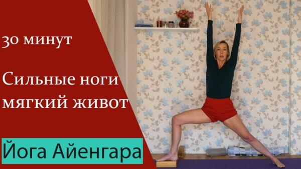 йога айенгара ноги