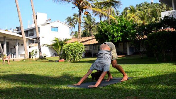 разминка йога