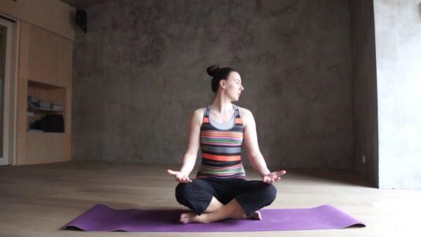 суставная разминка йога