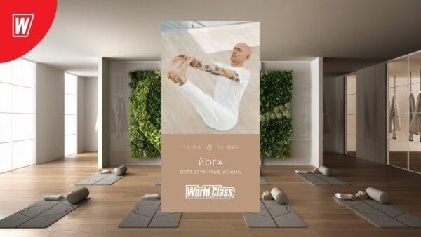 йога перевернутые асаны