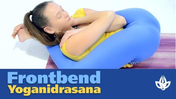 Йоганидрасана