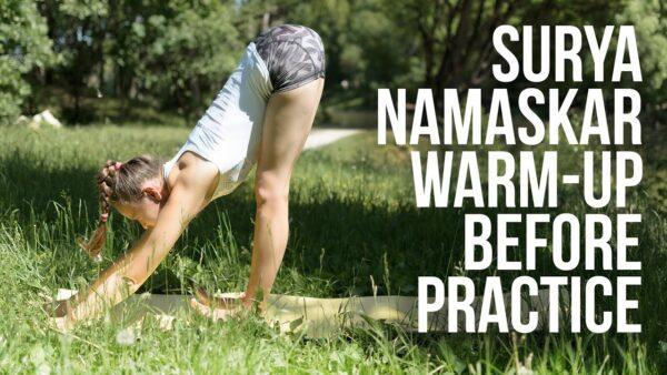 йога сурья намаскар